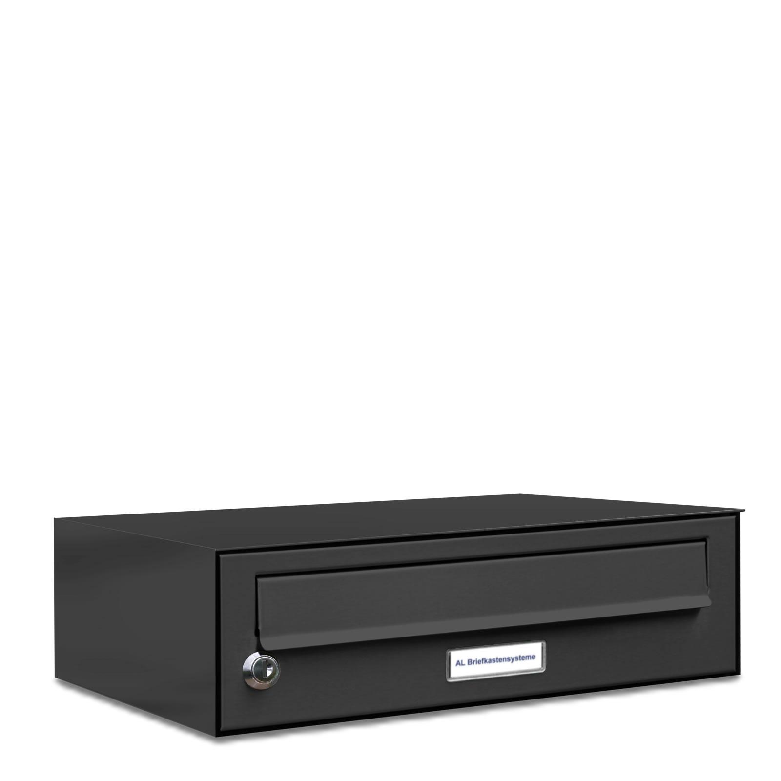 1er briefkasten anlage aufputz wandmontage ral 7016. Black Bedroom Furniture Sets. Home Design Ideas