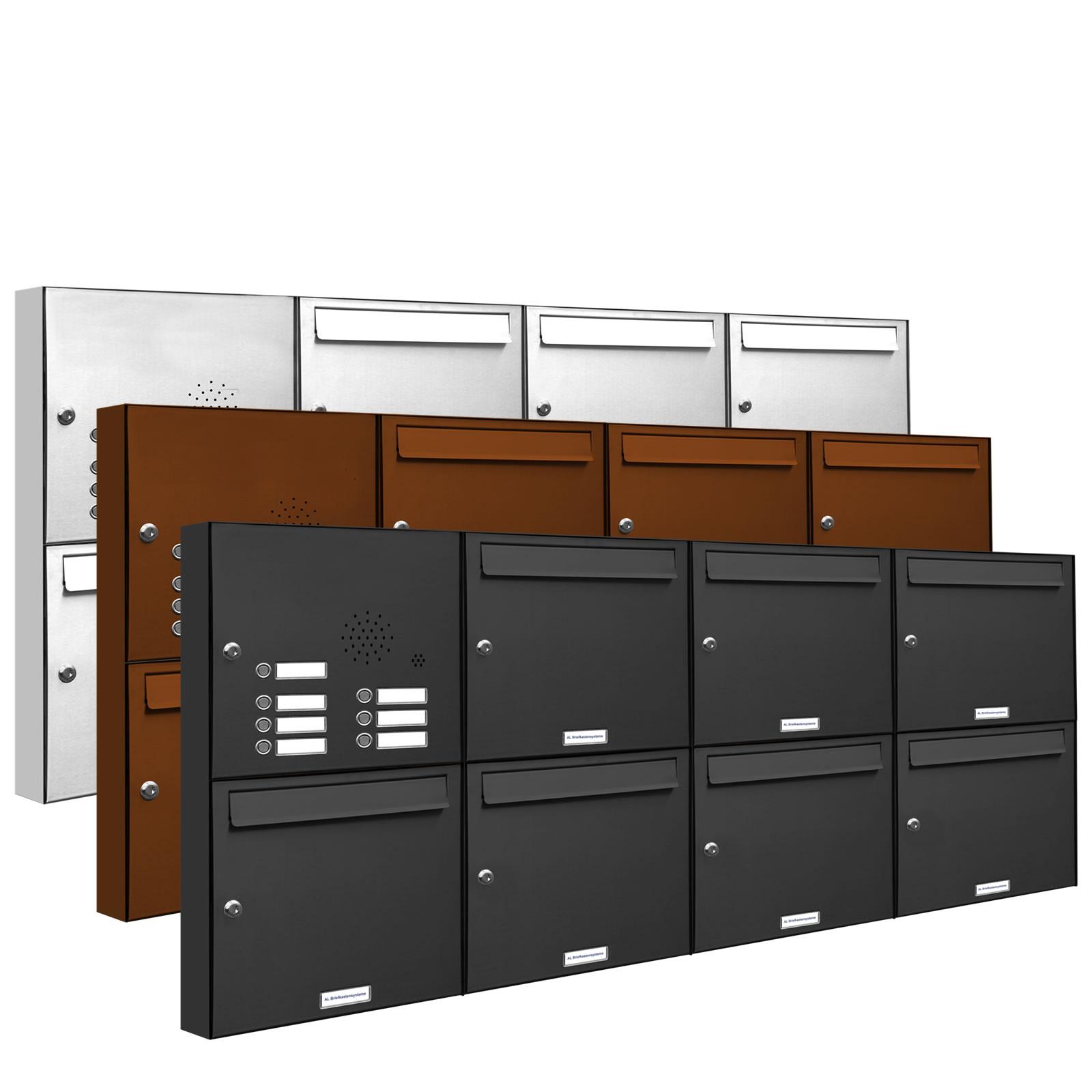 7er-4x2 Elegantes Briefkasten Mit Klingel Dekorationen